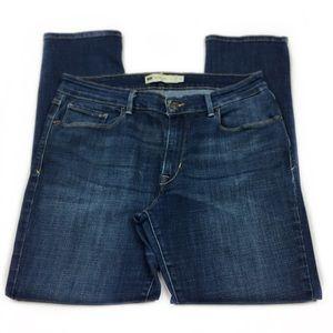Levi's Mid Rise Skinny Jeans, Sz 14